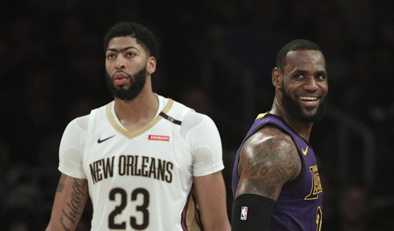 24115bbce Report  Pelicans blame Lakers for leaking Anthony Davis trade-talk details
