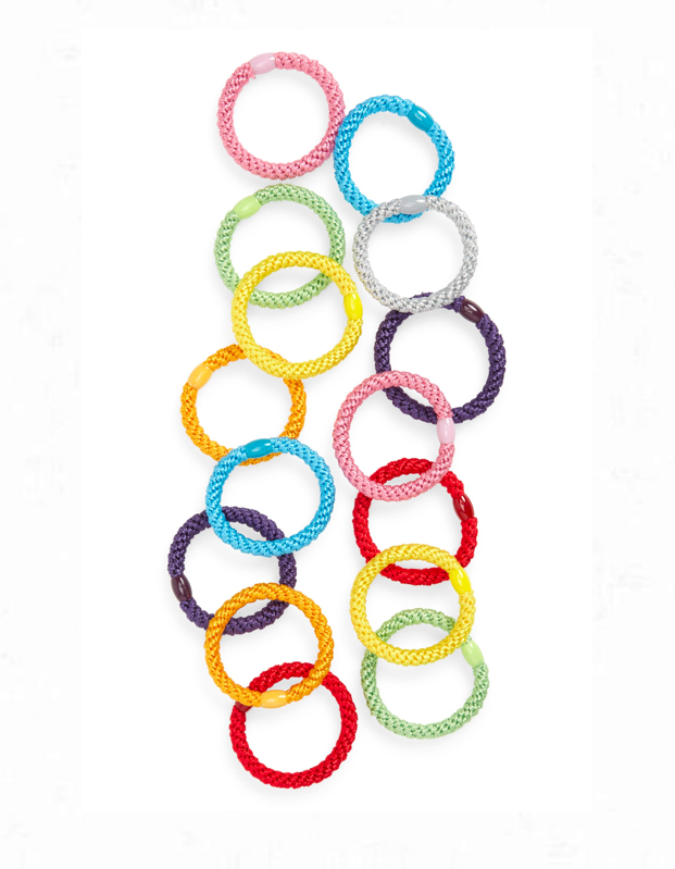 "We may never know where all of the fallen hair ties crawl away to, but at least these colorful ponytail holders are easier to spot in the crevice of a couch. $18, Nordstrom. <a href=""https://www.nordstrom.com/s/l-erickson-grab-go-set-of-15-ponytail-holders/3634238"" rel=""nofollow noopener"" target=""_blank"" data-ylk=""slk:Get it now!"" class=""link rapid-noclick-resp"">Get it now!</a>"
