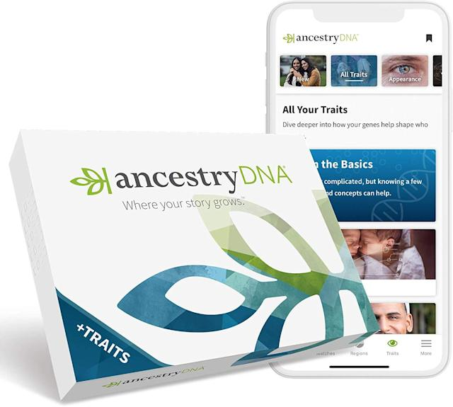 Get an in-depth look into your family tree with the Ancestry DNA test kit. (Photo: Amazon)