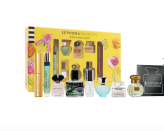 """<p><strong>Sephora Favorites</strong></p><p>sephora.com</p><p><strong>$75.00</strong></p><p><a href=""""https://go.redirectingat.com?id=74968X1596630&url=https%3A%2F%2Fwww.sephora.com%2Fproduct%2Fsephora-favorites-mother-s-day-coffret-perfume-set-P470052&sref=https%3A%2F%2Fwww.prevention.com%2Fbeauty%2Fg37724897%2Fbest-perfume-gift-sets%2F"""" rel=""""nofollow noopener"""" target=""""_blank"""" data-ylk=""""slk:Shop Now"""" class=""""link rapid-noclick-resp"""">Shop Now</a></p><p>This deluxe sampler set includes bigger bottles than your regular sample at between one and three ounces each. It's a great way to try Sephora's newest fragrances, <strong>plus it comes with a mascara</strong> from Pat McGrath Labs!</p>"""