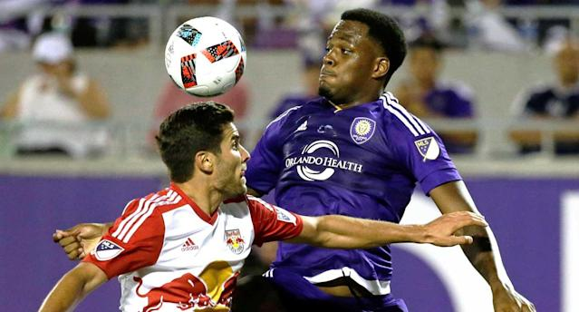 """Larin the """"Silent Giant"""" looms larger with every MLS season. (AP Photo)"""