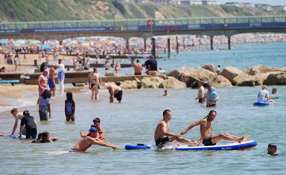 Met Office experts said the mercury could hit 31C on Saturday (Ben Birchall/PA) (PA Wire)