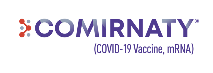 The logo for Comirnaty, the Pfizer-BioNTech COVID-19 vaccine approved by the Food and Drug Administration on August 23, 2021.