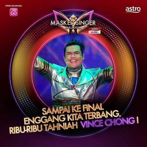 "No wonder everyone on ""The Masked Singer Malaysia"" just sounds so good, congrats to all the winners!"