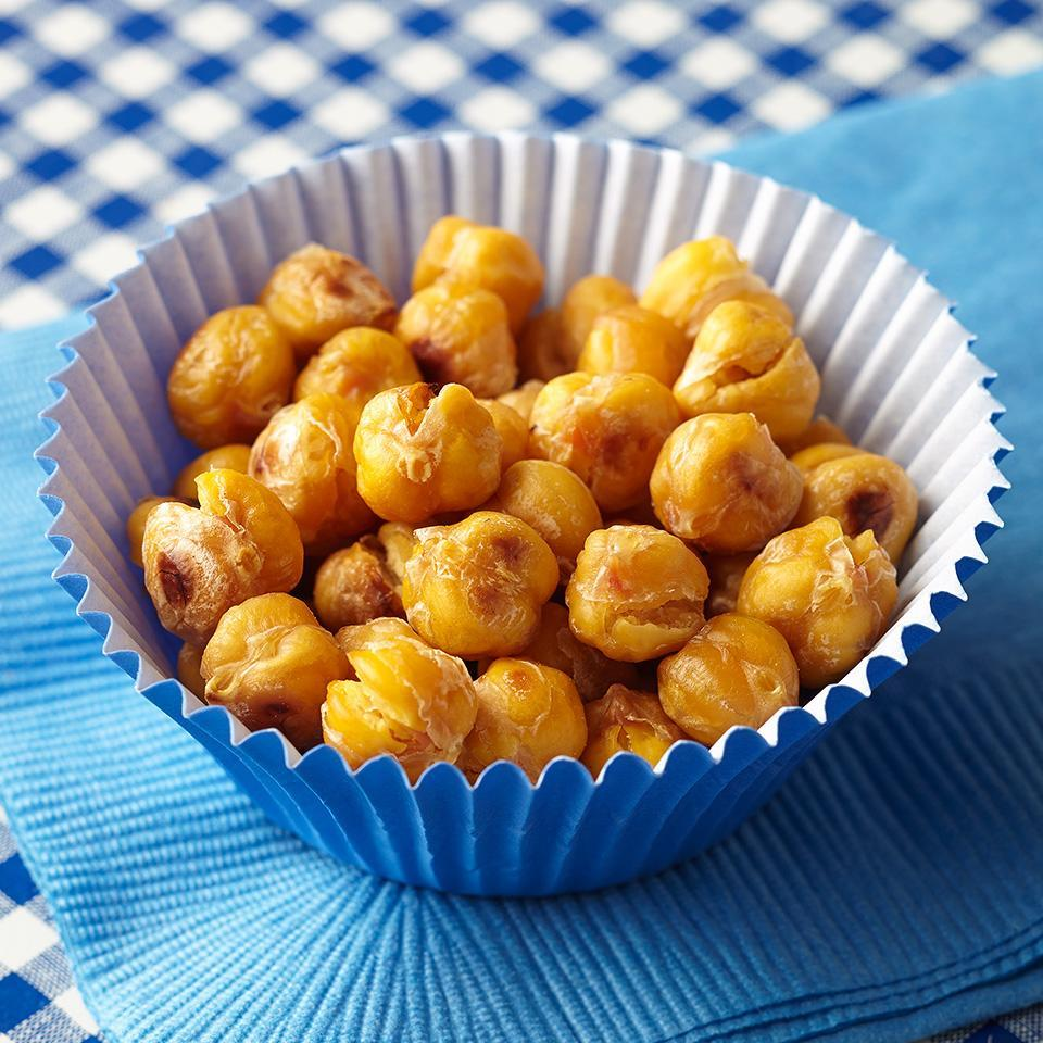 <p>Try this satisfying snack instead of nuts. The tasty legumes are lower in calories and packed with fiber.</p>