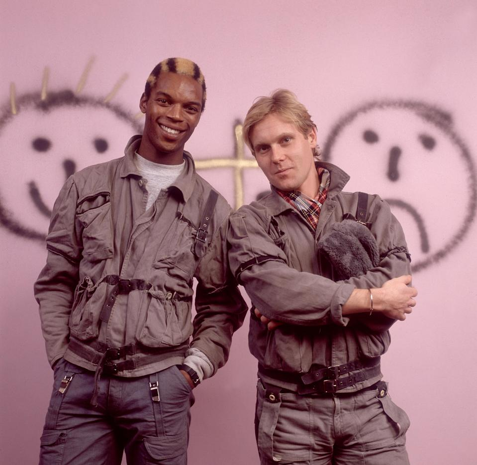 General Public's Ranking Roger and Dave Wakeling in 1984. (Photo: Paul Natkin/Getty Images)