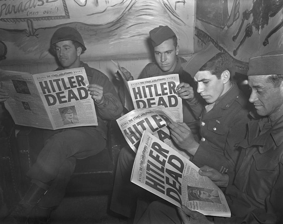 "<p>According to NPR, hundreds of Nazis <a href=""https://www.npr.org/2014/11/05/361427276/how-thousands-of-nazis-were-rewarded-with-life-in-the-u-s"" rel=""nofollow noopener"" target=""_blank"" data-ylk=""slk:settled in the United States after the war"" class=""link rapid-noclick-resp"">settled in the United States after the war</a>. According to the book and review, many entered the country one by one and served as spies for American intelligence officials. They were able to start over, living under false names so as to protect their identities and past. <br></p>"
