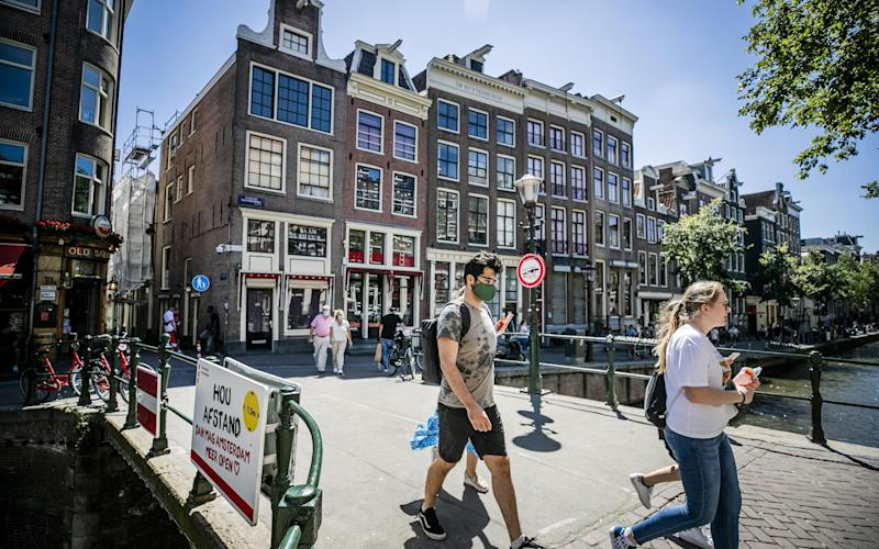 Amsterdam is currently a Covid-19 hotspot, say officials - Getty
