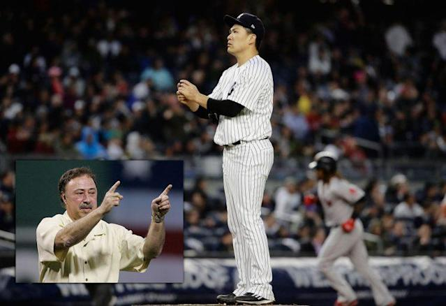 Red Sox announcer Jerry Remy said Mashiro Tanaka and other pitchers shouldn't get to use translators. (AP)