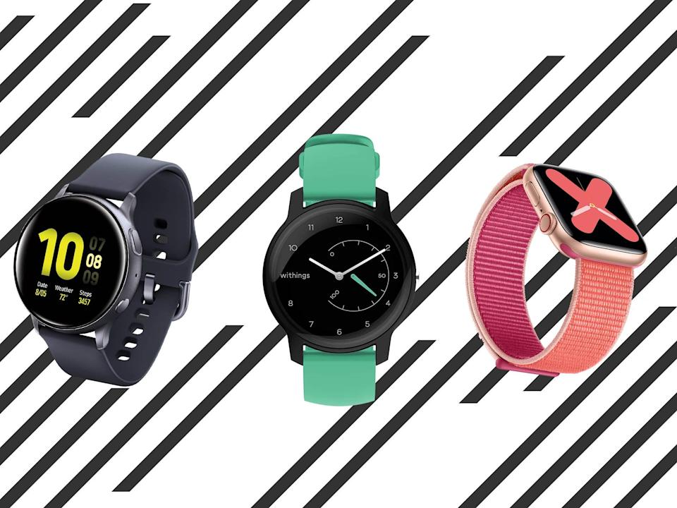 Some of them connect directly to the mobile phone network so you can make phone calls from your wrist (iStock/The Independent)