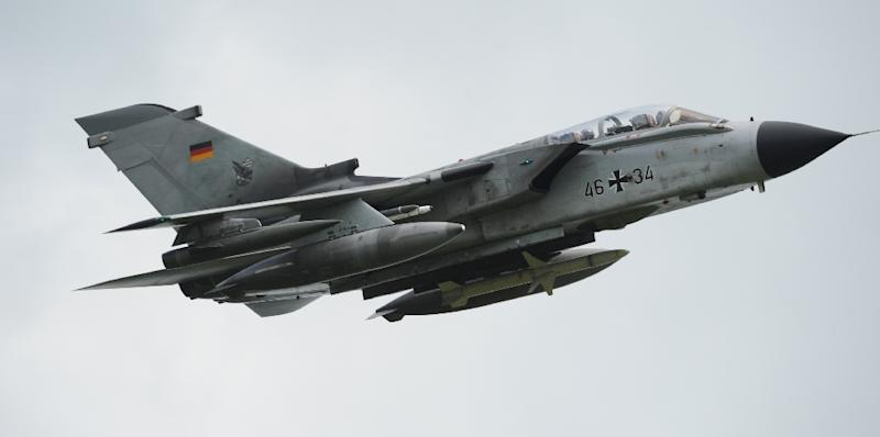The Tornado reconnaissance planes are capable of taking high-resolution photos and infrared images, even at night and in bad weather
