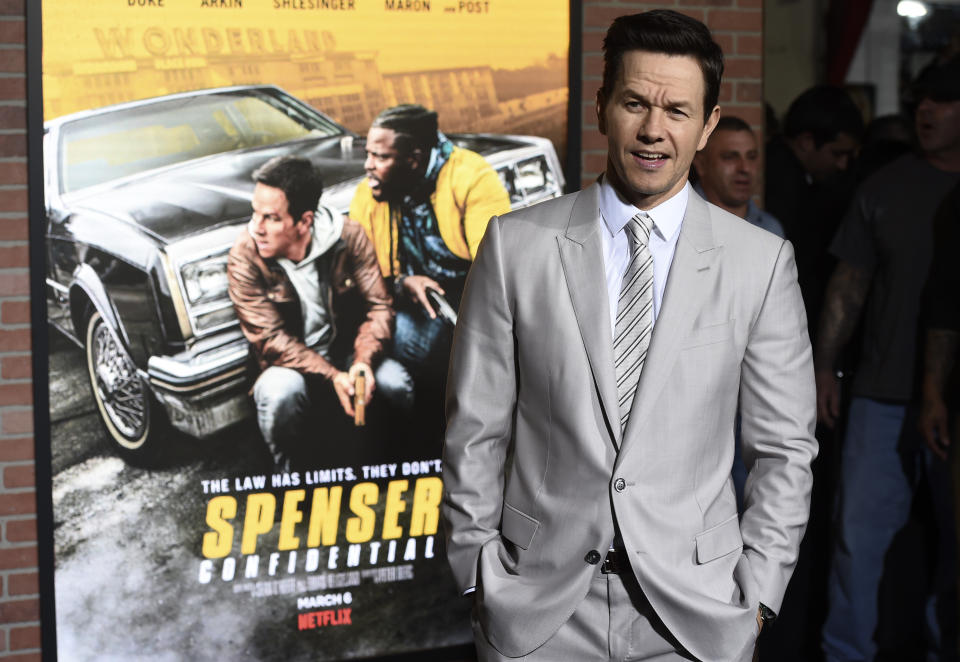 Mark Wahlberg, star of the Netflix film