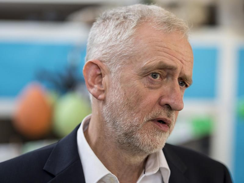 Labour leader Jeremy Corbyn: PA