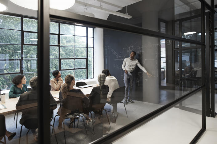 Almost a third of companies are yet to meet the 33% target on boardroom diversity, according to a study. Photo: Getty