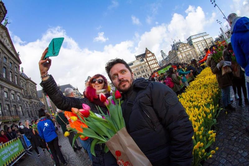 Away winter blues! Netherlands marks National Tulip Day