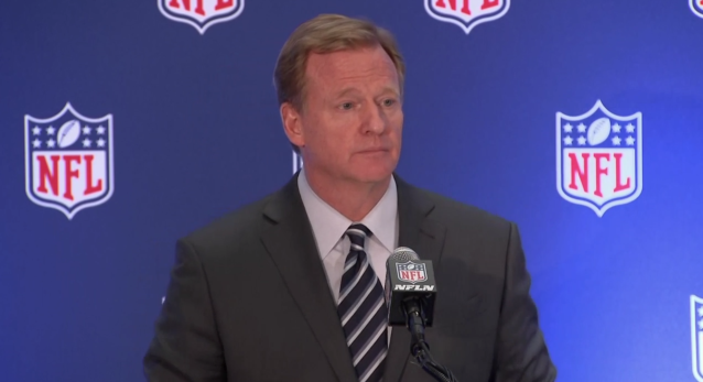 NFL Commissioner Roger Goodell, Oct. 18, 2017