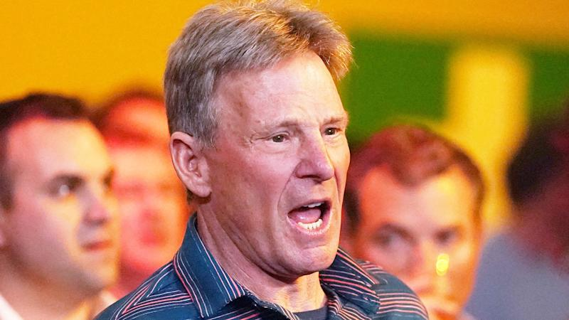 Seen here, Sam Newman's association with Channel Nine has ended.
