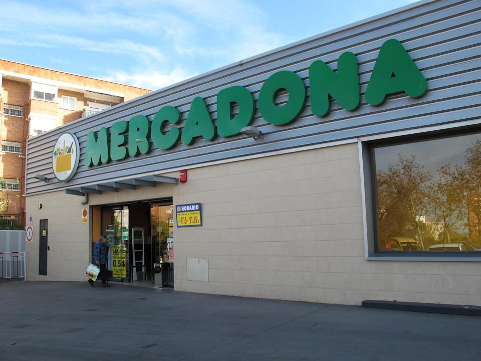 Mercadona is a  Spanish supermarket operator, this  Valencia-based company is the largest supermarket chain and food distributor in Spain, November 2012. (Photo by Cristina Arias/Cover/Getty Images)