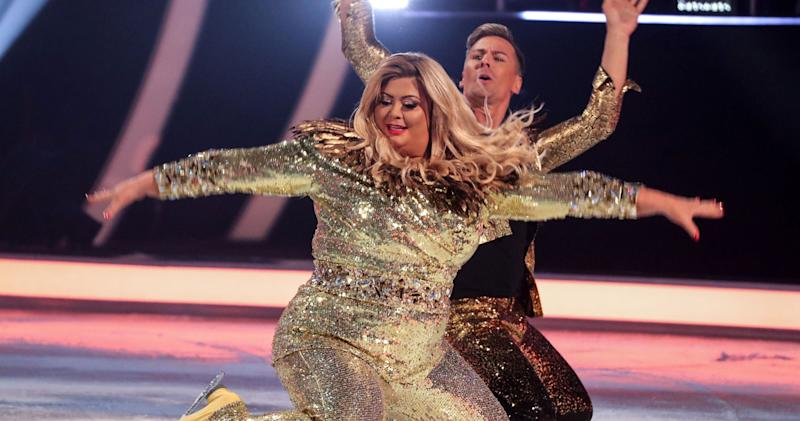 Gemma Collins slams 'Dancing On Ice' judges for 'body shaming'