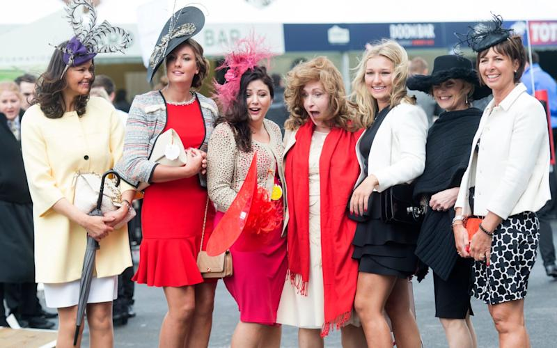 Women at Aintree - Credit: Paul Grover