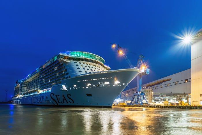 Royal Caribbean's newest ship, Odyssey of the Seas, is set to debut in May with departures from Israel with all passengers and crew over 16 vaccinated.