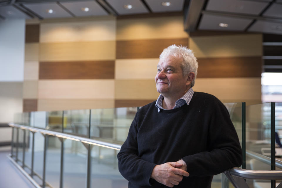 LONDON, ENGLAND - AUGUST 25:  Sir Paul Nurse, director of the new Francis Crick Institute at King's Cross on August 25, 2016 in London, England. The Francis Crick Institute will be the biggest biomedical research institute under one roof in Europe with around 1250 scientists and 250 other staff working there. The Cricks research aims to discover how and why disease develops and seeks to find new ways to diagnose, treat and prevent conditions such as cancer, heart disease and stroke, infections and neurodegenerative conditions like motor neurone disease. It is expected that the institute will be fully operational in early 2017.  (Photo by Dan Kitwood/Getty Images)