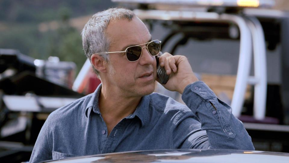 """Titus Welliver plays the title role in the Amazon series """"Bosch,"""" based on  Michael Connelly's best-selling books."""