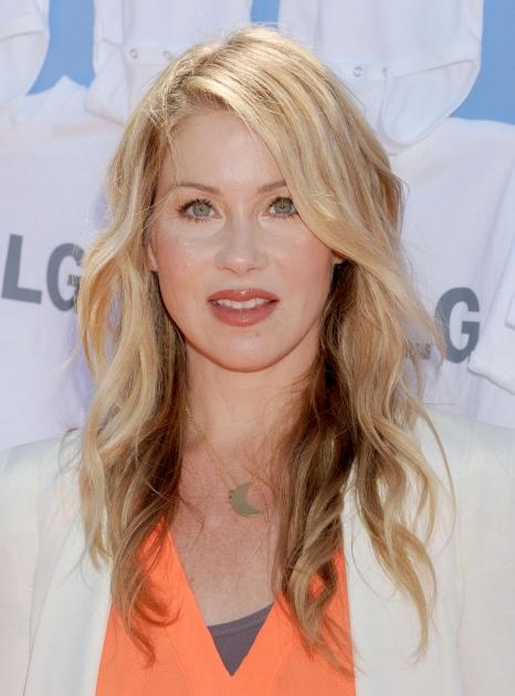 Christina Applegate arrives as LG presents '20 Magic Minutes..A Family Celebration' at The Garden at Ascona Mansion in Los Angeles on June 23, 2012 -- Getty Premium