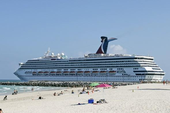 Carnival Cruise ship passenger rescued after jumping overboard