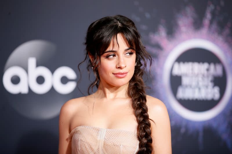 Camila Cabello too 'shy' to kiss beau Shawn Mendes during AMAs performance