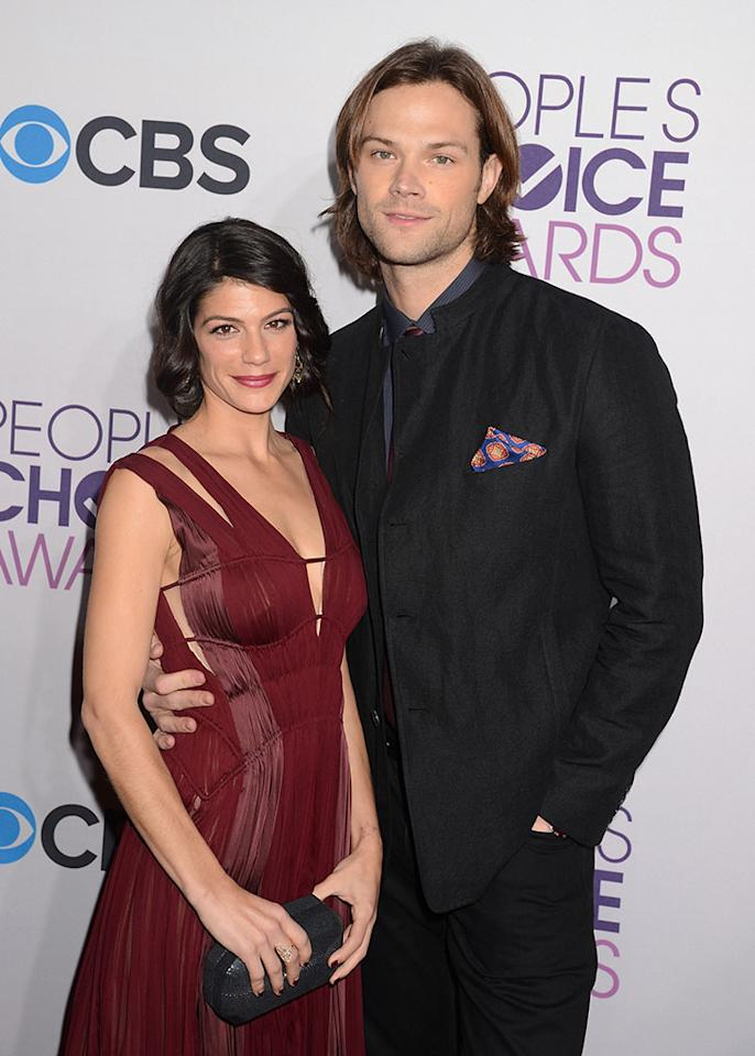 Genevieve Padalecki and Jared Padalecki attend the 2013 People's Choice Awards at Nokia Theatre L.A. Live on January 9, 2013 in Los Angeles, California.