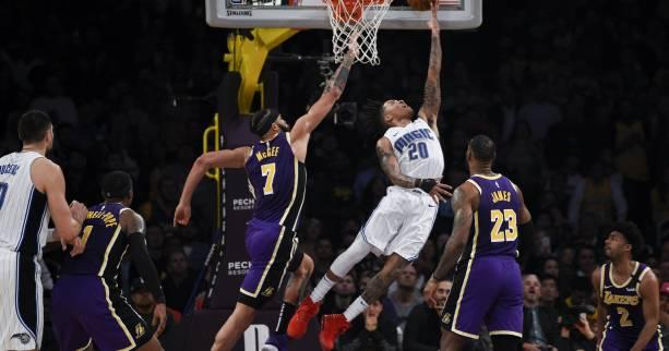 Basket - NBA - NBA : les Los Angeles Lakers surpris à domicile par Orlando