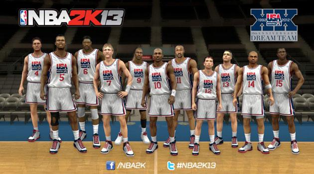 c174c0fe7096 NBA 2K13′ will include the Dream Team  and Team USA 2012