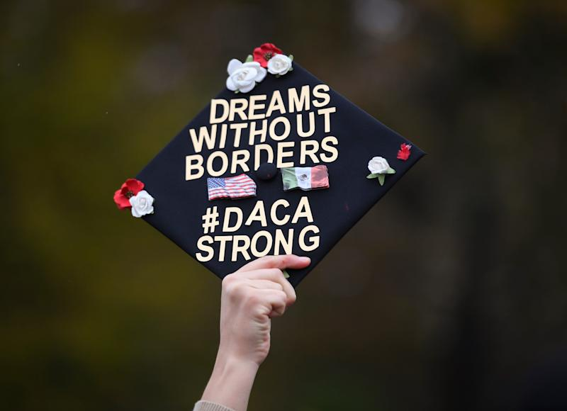 The U.S. Supreme Court hears arguments Tuesday about whether the 2017 Trump administration decision to end the Deferred Action for Childhood Arrivals program (DACA) is lawful.