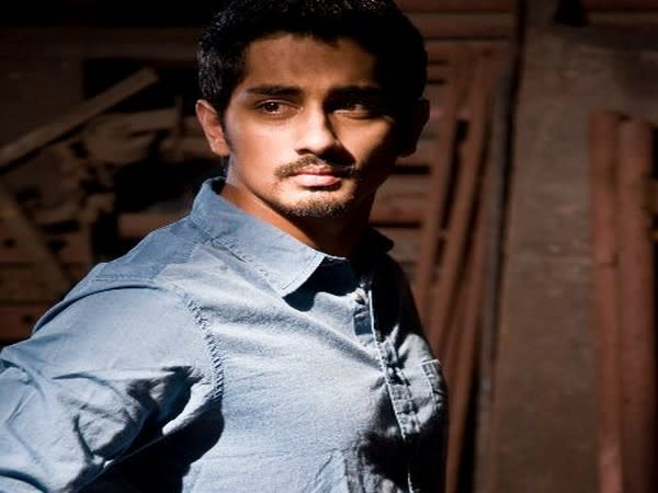Actor Siddharth (Image source: Twitter)