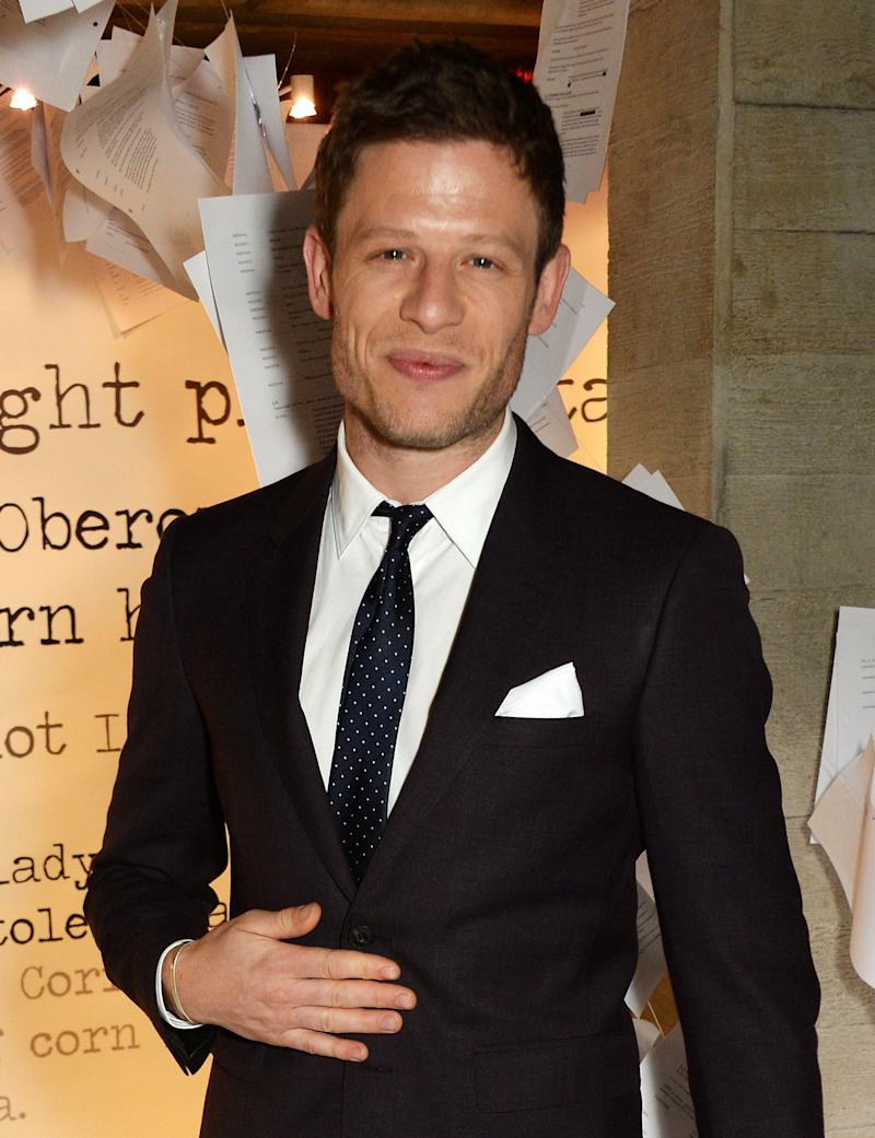 LONDON, ENGLAND - MARCH 02: James Norton attends the Bright Young Things Gala 2016, a Young Patrons of the National Theatre event in support of emerging talent, at The National Theatre on March 2, 2016 in London, England. (Photo by David M. Benett/Dave Benett/Getty Images)
