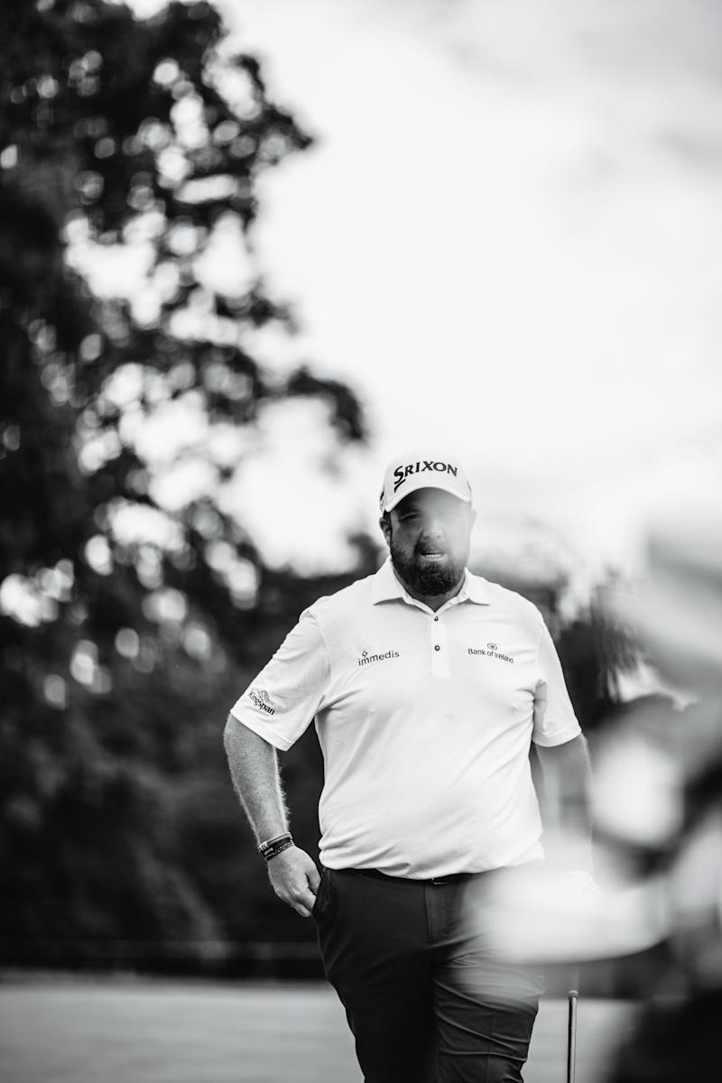 MEDINAH, IL: Shane Lowry during practice prior to the BMW Championship on August 13, 2019 at Medinah Country Club in Medinah, Illinois.(Photo by Nick Laham)