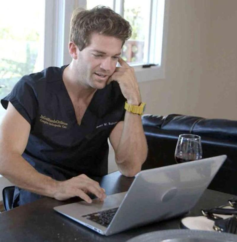 Grant Robicheaux on Bravo's <em>Online Dating Rituals of the American Male</em>