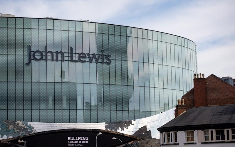 John Lewis store in Birmingham  - Jacob King/PA