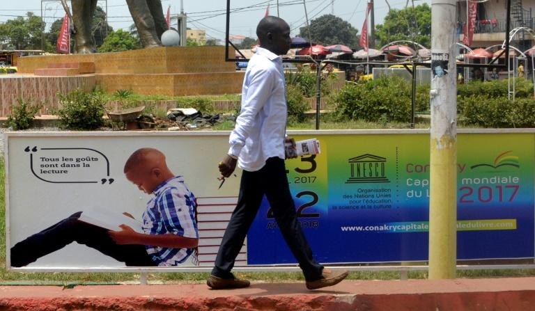 Word power: Conakry promotes the joy of reading for its turn as the UN's World Book Capital