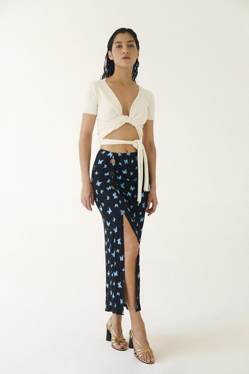 <p>This <span>Musier Paris Skirt Antonia</span> ($147) takes a more contemporary approach to the butterfly trend, and it's perfect for a resort vaycay.</p>