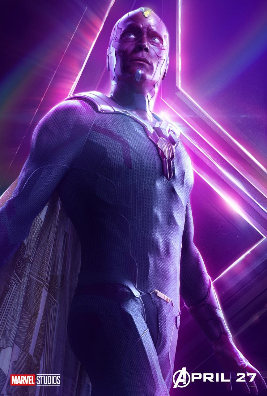 <p>Paul Bettany plays the android Avenger whose embedded Infinity Stone places him in peril. (Photo: Marvel Studios) </p>