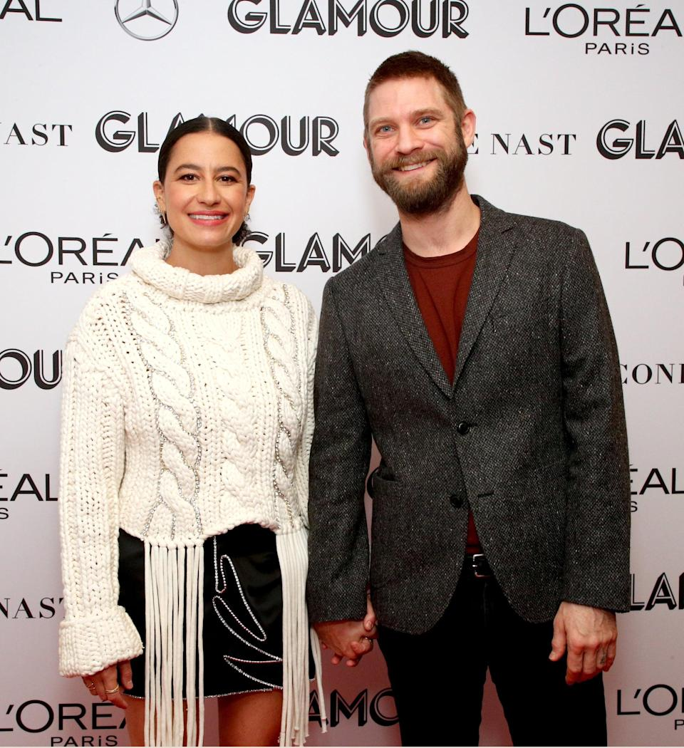 NEW YORK, NEW YORK - NOVEMBER 10: Ilana Glazer and David Rooklin attends the 2019 Glamour Women Of The Year Summit at Alice Tully Hall on November 10, 2019 in New York City. (Photo by Astrid Stawiarz/Getty Images for Glamour)