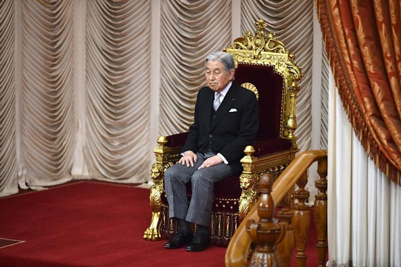 Japan enacts law allowing Emperor Akihito, 83, to abdicate