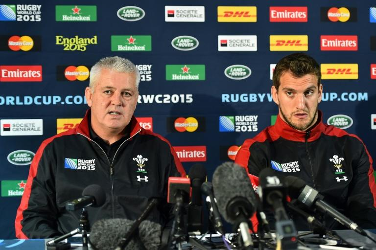 Warren Gatland (L) is said to favour Sam Warburton (R) to captain the British and Irish Lions squad to tour New Zealand