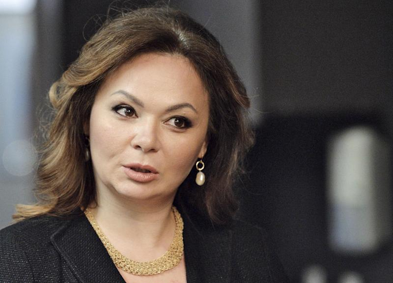 Lawyer Natalia Veselnitskaya has denied working for the Russian government: AP