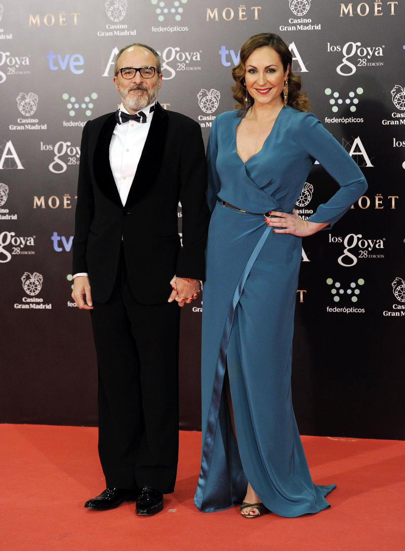 MADRID, SPAIN - FEBRUARY 09: Fernando Guillen Cuervo and Ana Milan attend Goya Cinema Awards 2014 at Centro de Congresos Principe Felipe on February 9, 2014 in Madrid, Spain. (Photo by Europa Press/Europa Press via Getty Images)