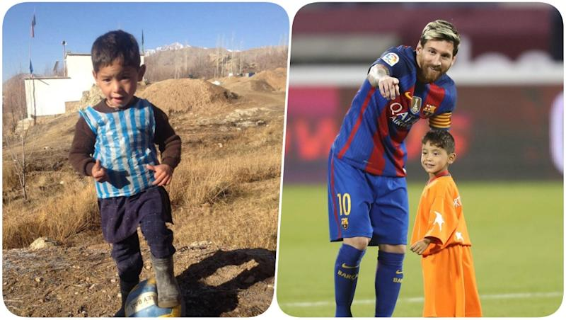 Afghanistan Kid Murtaza Ahmadi Who Wore Lionel Messi Plastic Jersey Forced to Flee Home After Offending Taliban