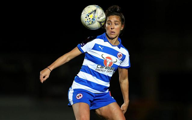Fara Williams scored a hat-trick to help Reading beat Lewes in the League Cup - Getty Images Europe