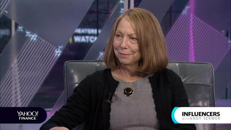 """Former New York Times Executive Editor Jill Abramson appeared on Influencers with Andy Serwer hours before journalists made accusations of plagiarism in her new book, """"Merchants of Truth."""""""